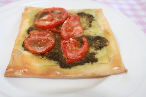 Tomaten-pesto-hapje