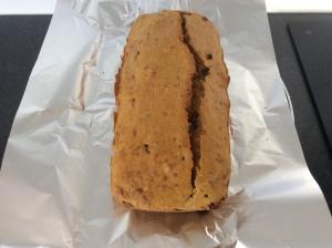 Zoete aardappel-cake