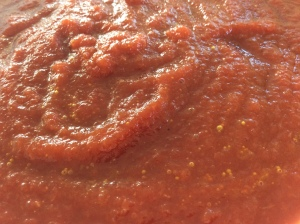 Rode bieten soep-soep