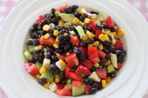 Salade-van-zwarte-bonen