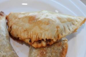 Tapas-empanada-gehakt