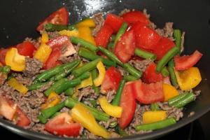 Wraps-groente-gehakt