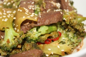 Broccoli-beef-stew