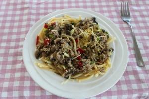 Snelle pasta-tonijn-lovetocookhealthy