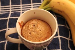 Vanille mugcake-lovetocookhealthy