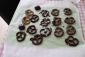 Chocolade kerst pretzels-lovetocookhealthy (3)