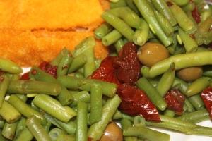 Sperziebonen-zongedroogde tomaten-olijven-lovetocookhealthy (2)
