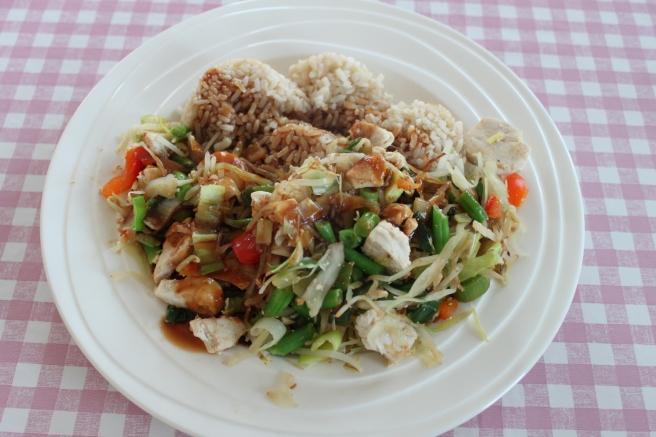 Zoetzure kip-groente-rijst-lovetocookhealthy