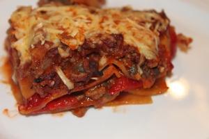 Lasagne met geroosterde paprika-lovetocookhealthy (5)