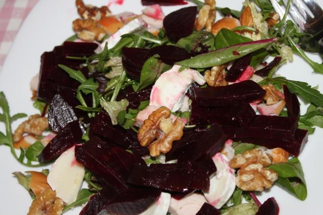 Salade met rode biet en kip_lovetocookhealthy (2)