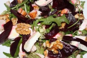 Salade met rode biet en kip_lovetocookhealthy