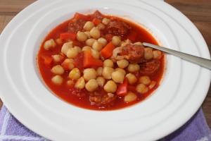 Garbanzos guisados-kikkererwten stoofschotel-lovetocookhealthy (5)