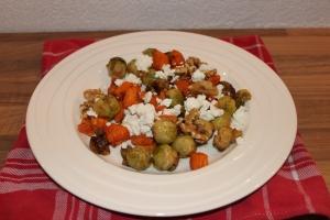 Spruitjesschotel met feta en zoete aardappel-lovetocookhealthy (2)