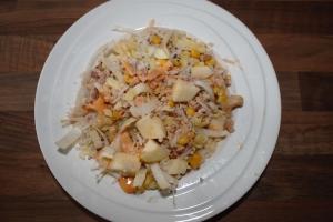 Rijstsalade met tonijn-lovetocookhealthy