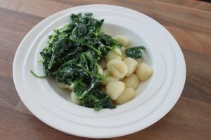 Gnocchi met spinazie en ricotta-lovetocookhealthy (2)