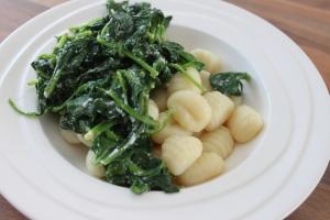 Gnocchi met spinazie en ricotta-lovetocookhealthy
