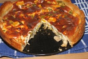 Paprikaquiche met champignon-lovetocookhealthy (3)