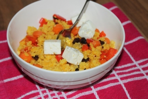Couscous met kurkuma en feta-lovetocookhealthy (3)