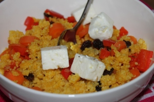Couscous met kurkuma en feta-lovetocookhealthy (4)