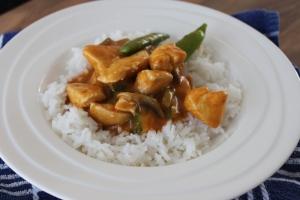 Makkelijke kipcurry met courgette-lovetocookhealthy (2)