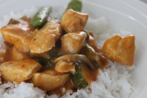 Makkelijke kipcurry met courgette-lovetocookhealthy (3)
