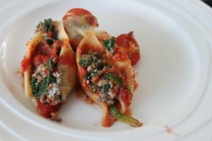 Pastaschelpen met ricotta en gehakt-lovetocookhealthy (5)