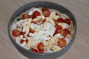 Hartige taart-met-courgette-champignons-cherrytomaat-lovetocookhealthy2