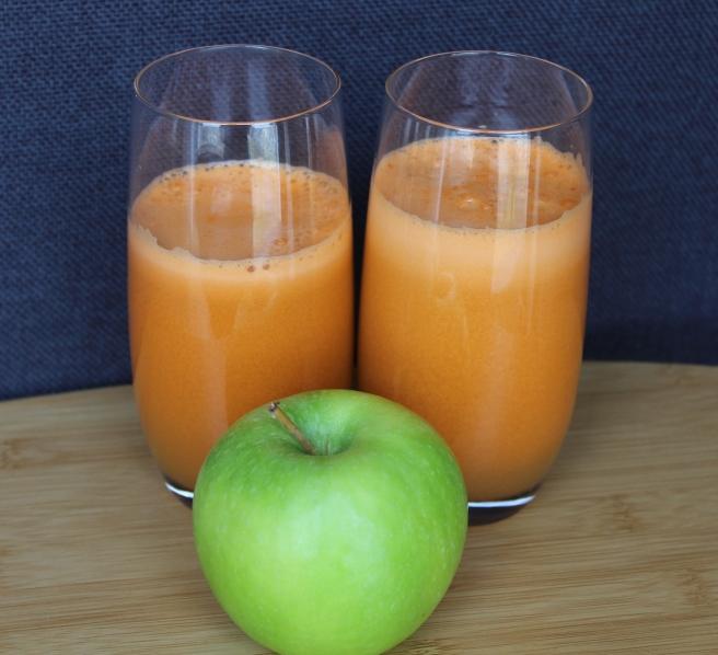 Wortelsap met appel