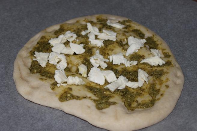 Carpaccio pizza