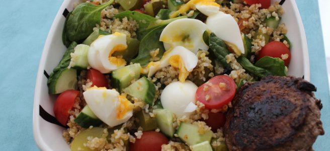Bulgursalade-met-spinazie-en-tartaar-lovetocookhealthy
