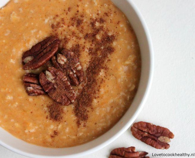 Pumpkin spice oats