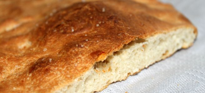 Platbrood voor bij de soep