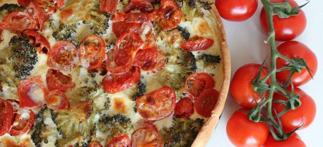 Broccoli tomatenquiche