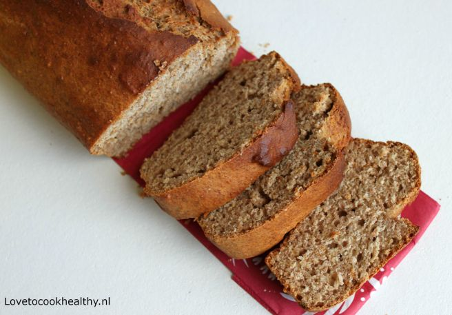 Peanut butter banana bread
