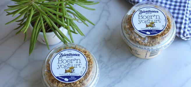 Boer'n yoghurt vanille muesli