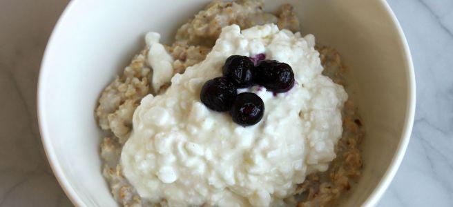 Hüttenkäse oats