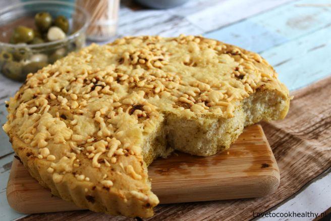 Pesto plukbrood