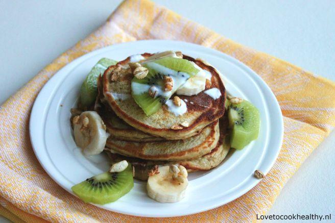 Havermout pancakes